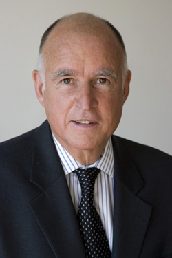 Jerry Brown, Governor of California.