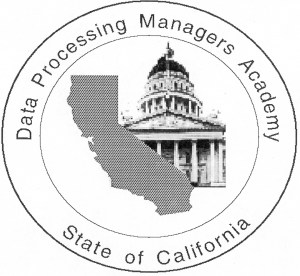 Data Processing Managers Academy logo.